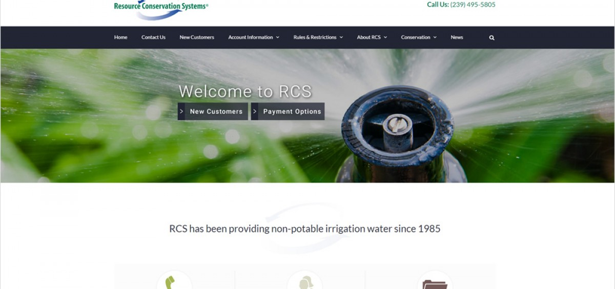 RCS launches new website